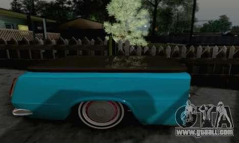 Trailer for Vaz 2102 for GTA San Andreas back left view