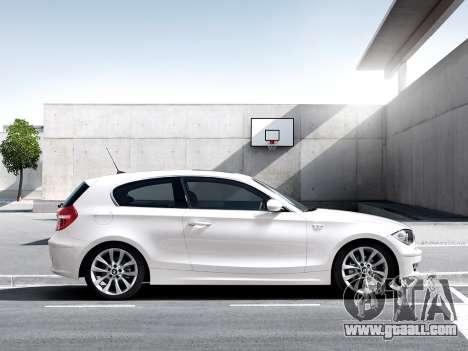 Boot screens BMW 116i for GTA 4 forth screenshot