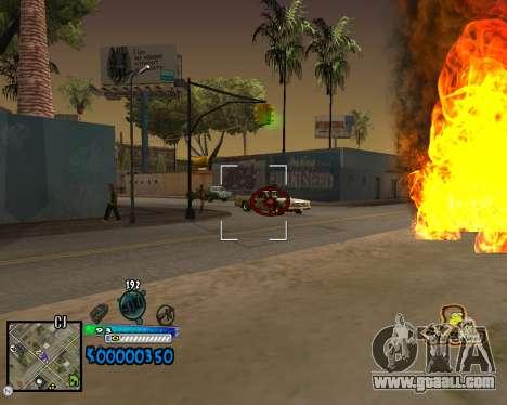 C-HUD Old School for GTA San Andreas