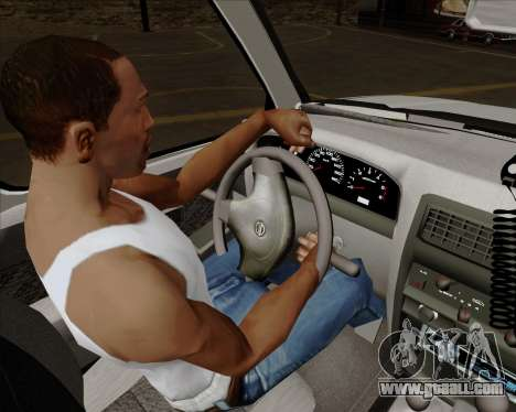 Nissan Terrano for GTA San Andreas interior