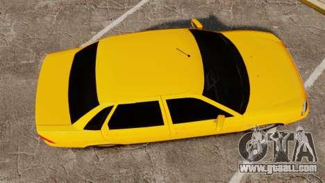 VAZ-Lada 2170 Priora for GTA 4 right view