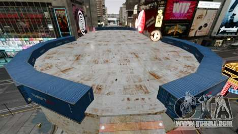 Open arena for fighting vehicles for GTA 4 second screenshot