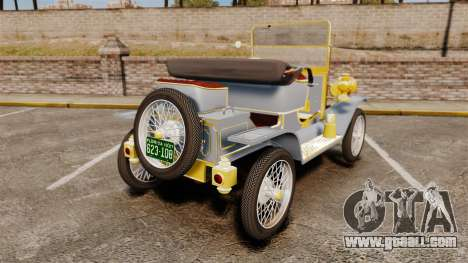 Ford Model T 1910 for GTA 4 back left view