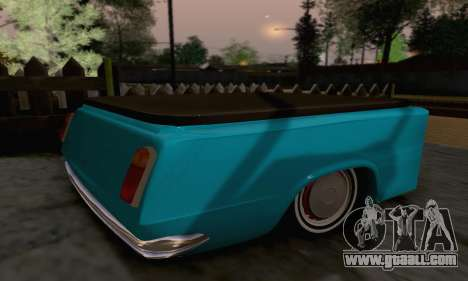 Trailer for Vaz 2102 for GTA San Andreas left view