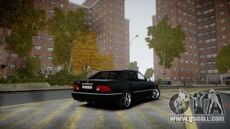 Mercedes-Benz E280 Beta for GTA 4 right view