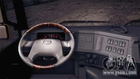 Volvo FM12 8X4 Dumper for GTA San Andreas right view