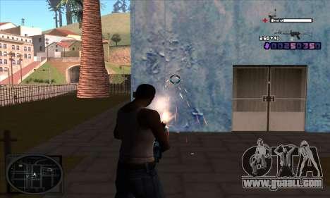 C-HUD Belenky for GTA San Andreas second screenshot