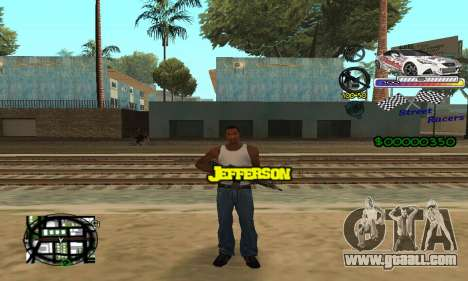 HUD Races for GTA San Andreas