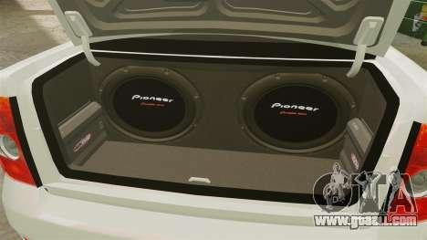 Vaz-2170 Lada Priora Luks for GTA 4 back view