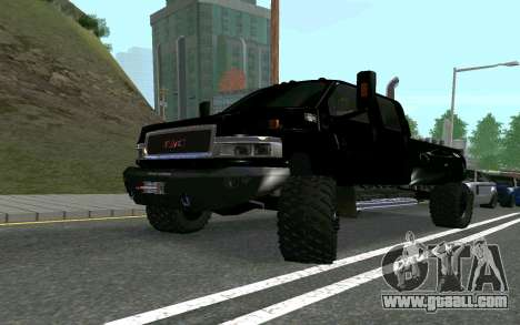 GMC Topkick for GTA San Andreas