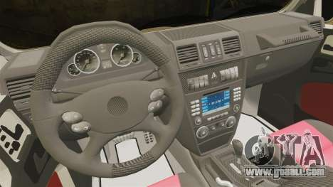 Mercedes-Benz G63 AMG 6x6 for GTA 4 inner view