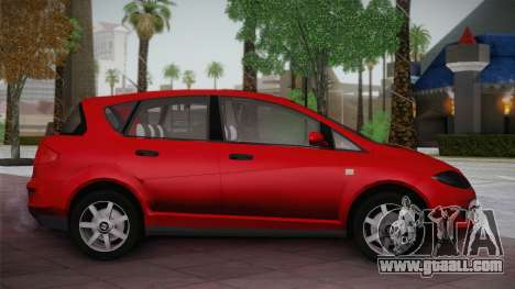 Seat Toledo 1.9TDi 2006 for GTA San Andreas left view