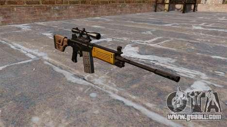 IMI Galil assault rifle for GTA 4