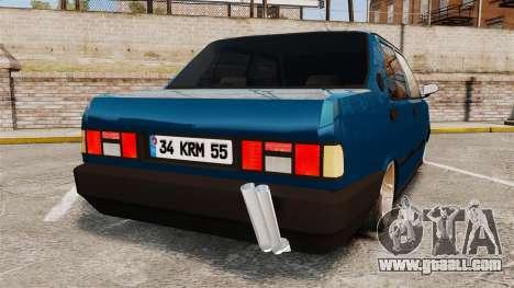 Tofas Sahin v2.0 for GTA 4 back left view