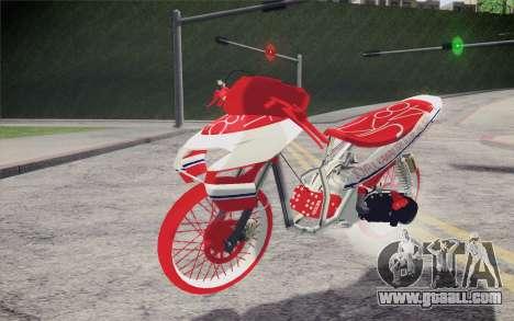 Vario Drag version JKT48 for GTA San Andreas