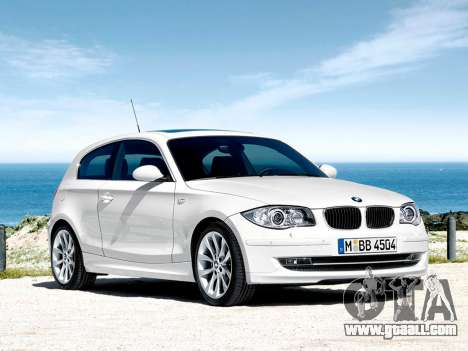 Boot screens BMW 116i for GTA 4 seventh screenshot