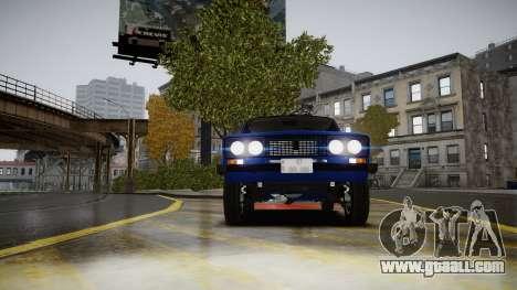 VAZ 2106 Baku for GTA 4 back view