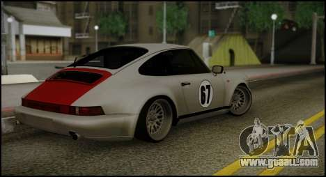 Porsche 911 for GTA San Andreas back left view