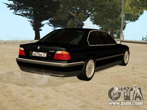 BMW 730 E38 for GTA San Andreas left view