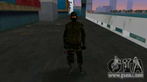 Fighter Alfa Antiterror for GTA Vice City third screenshot