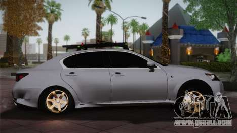 Lexus GS250 F for GTA San Andreas left view
