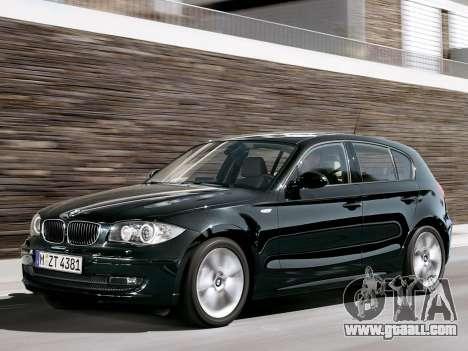 Boot screens BMW 116i for GTA 4 ninth screenshot