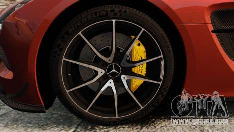 Mercedes-Benz SLS 2014 AMG Black Series for GTA 4 back view