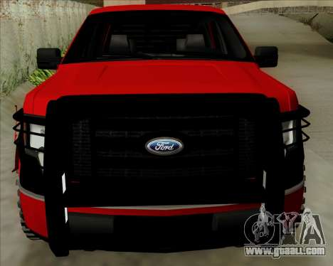 Ford F-150 for GTA San Andreas back left view