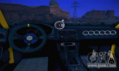 Nissan Silvia S14 for GTA San Andreas inner view