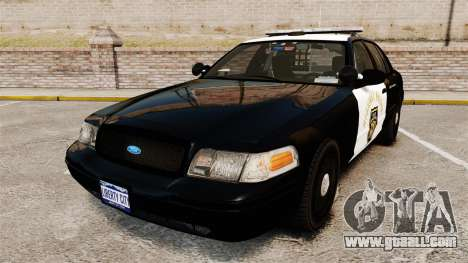 Ford Crown Victoria 2008 LCHP [ELS] for GTA 4