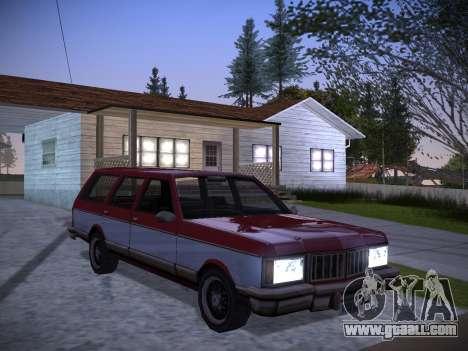 ENBSeries by Pablo Rosetti for GTA San Andreas seventh screenshot