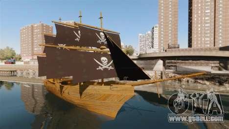 Pirate ship for GTA 4