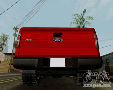 Ford F-150 for GTA San Andreas right view