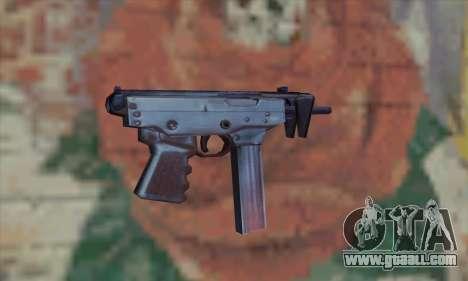 Tec-9 for GTA San Andreas second screenshot