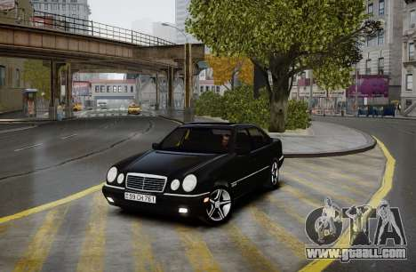 Mercedes-Benz E280 Beta for GTA 4