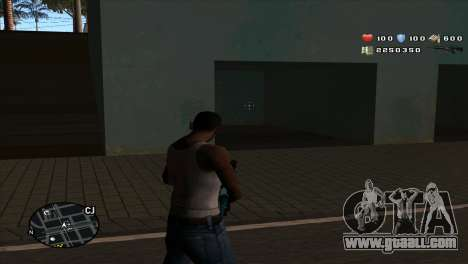 C-Hud by Stan Gomez for GTA San Andreas second screenshot