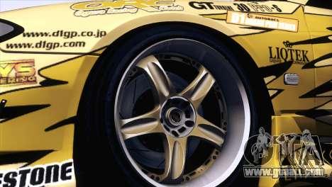 Nissan Silvia S15 TopSecret for GTA San Andreas right view