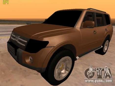 Mitsubishi Pajero 2010 for GTA San Andreas