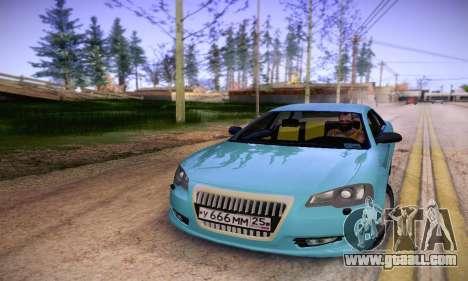 Volga Siber 2.5 AT Restyling for GTA San Andreas back view