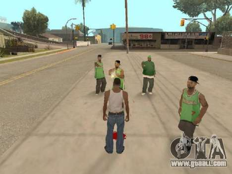 Go to the gang of Ballas for GTA San Andreas third screenshot