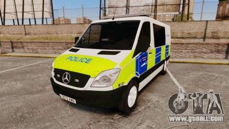 Mercedes-Benz Sprinter 211 CDI Police [ELS] for GTA 4