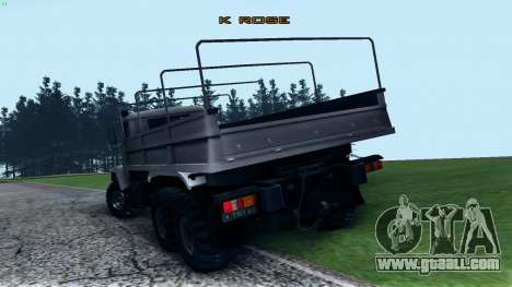 KrAZ 6322 for GTA San Andreas back left view