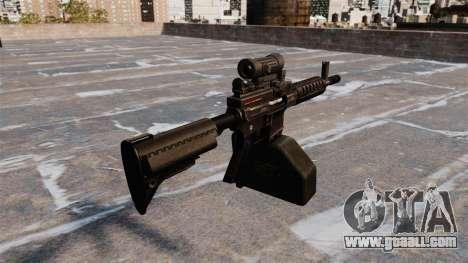 Ares Shrike 5.56 light machine gun for GTA 4 second screenshot