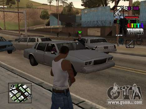 C-HUD A.C.A.B for GTA San Andreas second screenshot