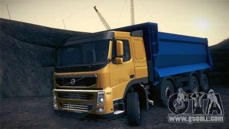 Volvo FM12 8X4 Dumper for GTA San Andreas