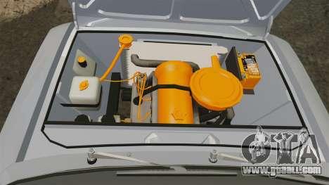 VAZ-Lada 2101 USSR for GTA 4 inner view