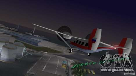The an-28 for GTA Vice City left view