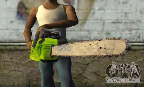 Chainsaw for GTA San Andreas third screenshot