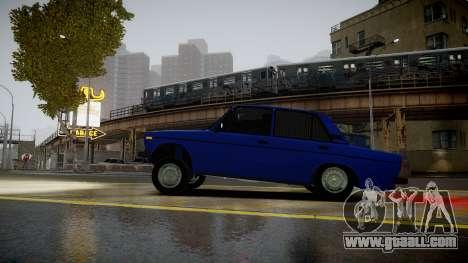 VAZ 2106 Baku for GTA 4 left view