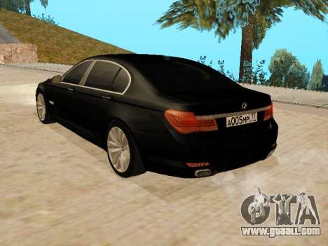 BMW 730Li for GTA San Andreas left view